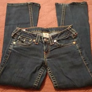True Religion Joey Flare Womans Jeans size 27